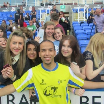Soccer six celebrity football match